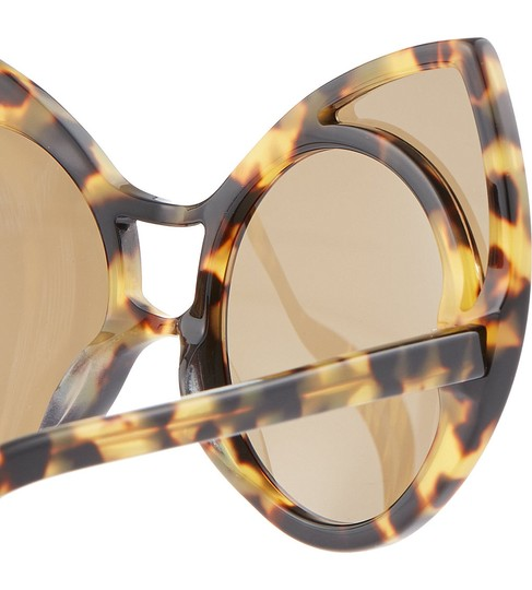 Linda Farrow Pointy Cat Eye Sunglasses Image 2