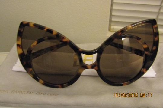 Linda Farrow Pointy Cat Eye Sunglasses Image 6