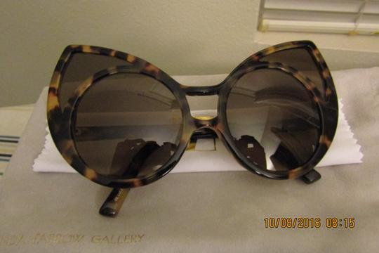 Linda Farrow Pointy Cat Eye Sunglasses Image 8