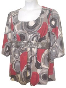 Venezia by Lane Bryant Abstract 18 20 1x Tunic