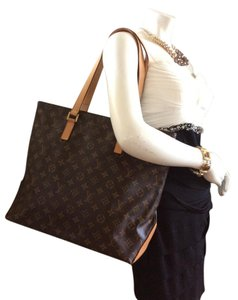 Louis Vuitton Cabas Mezzo Monogram M51151 Tote in Brown