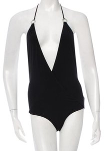 Louis Vuitton Black Louis Vuitton halter one-piece swimsuit 10 M Medium