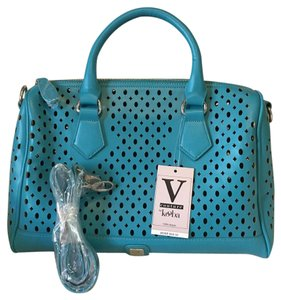 V Couture by Kooba Vegan Satchel in Turquoise