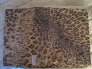 Other LEOPARD PASHMINA SCARF SHAWL NEW