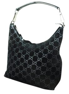 Gucci Chrome Hardware Dressy Or Casual Hard To Find Style Hint Of Metallic Mint Vintage Hobo Bag