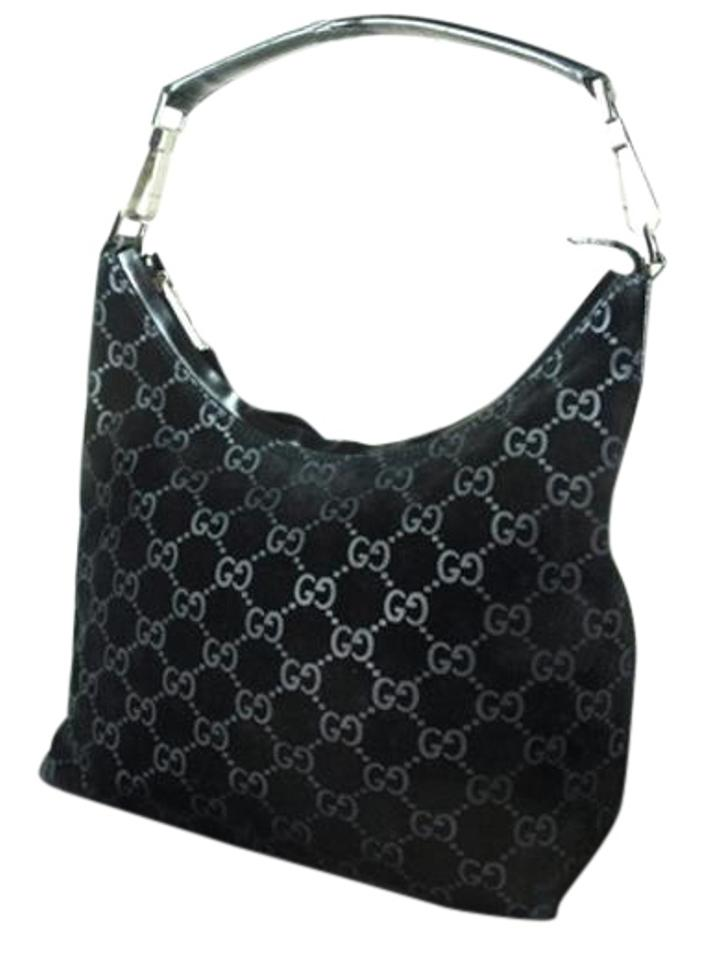 2743e89d977 Gucci Chrome Hardware Dressy Or Casual Hard To Find Style Hint Of Metallic  Mint Vintage Hobo ...