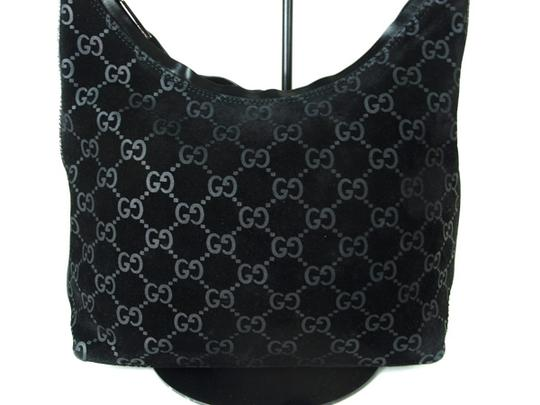 Gucci Chrome Hardware Dressy Or Casual Hard To Find Style Hint Of Metallic Mint Vintage Hobo Bag Image 1