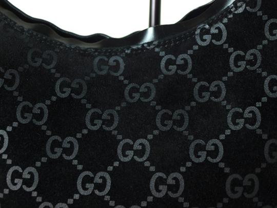 Gucci Chrome Hardware Dressy Or Casual Hard To Find Style Hint Of Metallic Mint Vintage Hobo Bag Image 10