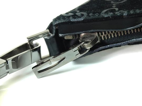 Gucci Chrome Hardware Dressy Or Casual Hard To Find Style Hint Of Metallic Mint Vintage Hobo Bag Image 11