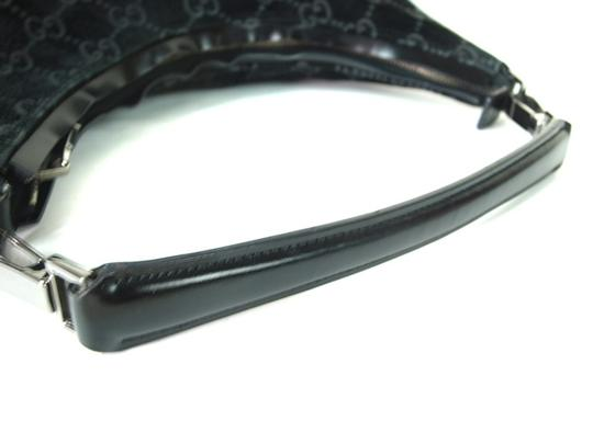 Gucci Chrome Hardware Dressy Or Casual Hard To Find Style Hint Of Metallic Mint Vintage Hobo Bag Image 5