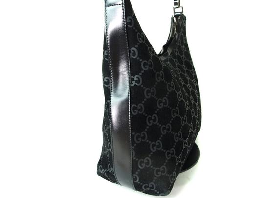 Gucci Chrome Hardware Dressy Or Casual Hard To Find Style Hint Of Metallic Mint Vintage Hobo Bag Image 9