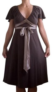 Laundry by Shelli Segal short dress Chocolate Brown on Tradesy