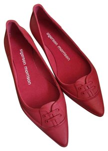 Sigerson Morrison red Flats