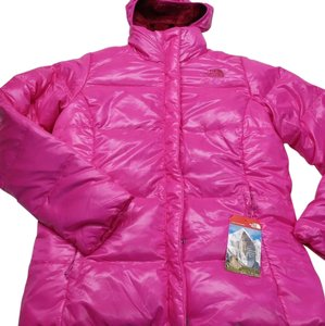 The North Face Luminous Pink Womens Jean Jacket