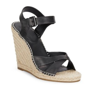 Joie Black Wedges