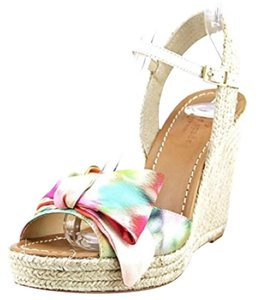 Kate Spade Giverny floral Wedges