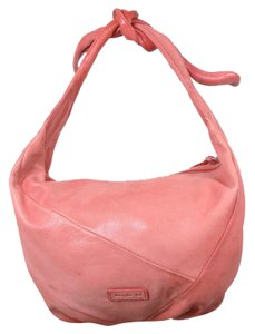 Christopher Kon Leather Satchel in rose