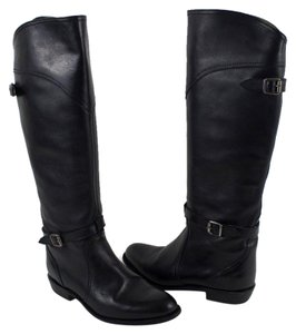 Frye Tall Leather Black Boots