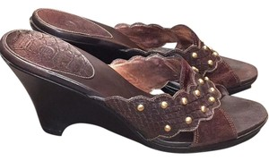 Cole Haan Chocolate brown Mules