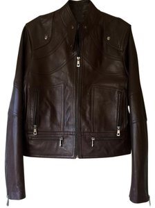 Maison de Cuir Leather Brown Espresso Jacket
