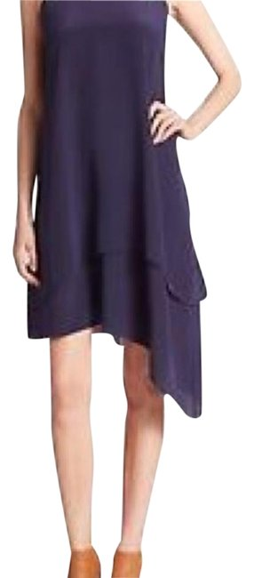 Preload https://img-static.tradesy.com/item/19696903/eileen-fisher-navy-fisherdouble-layer-silk-midnight-high-low-cocktail-dress-size-4-s-0-1-650-650.jpg
