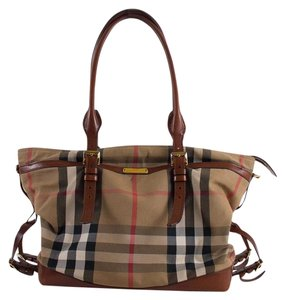 Burberry Brit Italy Check Diaper Bag