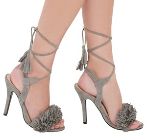 Lulu*s Grey Pumps