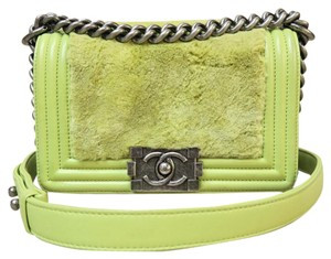 Chanel Mini Rabbit Boy Shoulder Bag