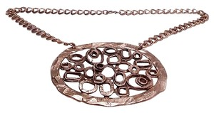 Guy Vidal Large Guy Vidal Midcentury Modernist Pendant Necklace