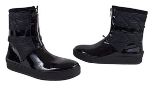 Aquatalia by Marvin K. Italy Patent Black Boots