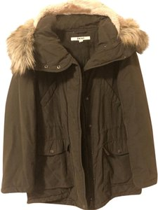 DKNY Parka Rain Jacket Coat