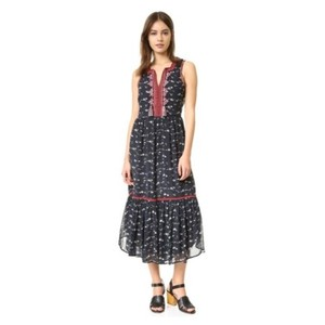 Navy Maxi Dress by Ulla Johnson