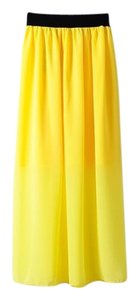 Next Level Dress Skirt Yellow