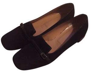 Bally Black suede Flats
