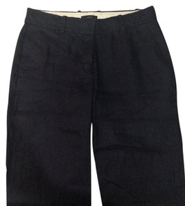 J.Crew Linen Summer Lightweight Straight Pants Navy