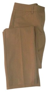 Express Work Office Wear To Work Straight Pants Camel