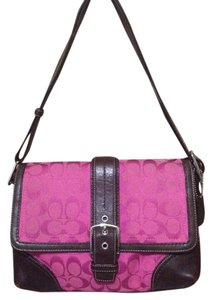 Coach Signature Jacquard Shoulder Bag