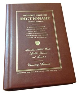 Kate Spade Book Dictionary Unique Collector Brown Clutch