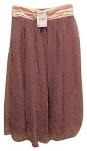 Free People Tulle Maxi Skirt Shell