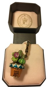 Juicy Couture NWT! JUICY COUTURE PAVE STONE CACTUS LOCKET CHARM!