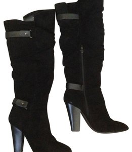 Charlotte Russe Black Boots
