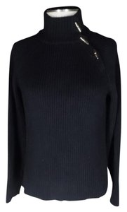 Lauren Ralph Lauren Mock Neck Toggle Button Sweater