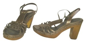 Via Spiga Italy Bronze Sandals