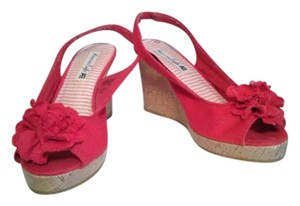 American Eagle Outfitters Red Platforms