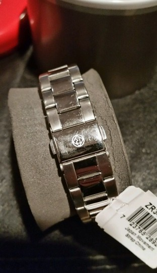 Relic NEW RELIC Montclare Stainless Steel Crystal Silver Tone Bling Watch Image 3