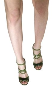Mellisa + Jean Paul Gaultier Green Sandals