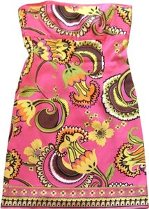 Laundry by Shelli Segal short dress Pink Print on Tradesy