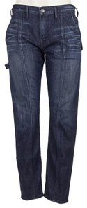 True Religion Boyfriend Cut Jeans-Distressed