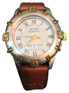Anne Klein Anne klein II Leather Strap Wristwatch