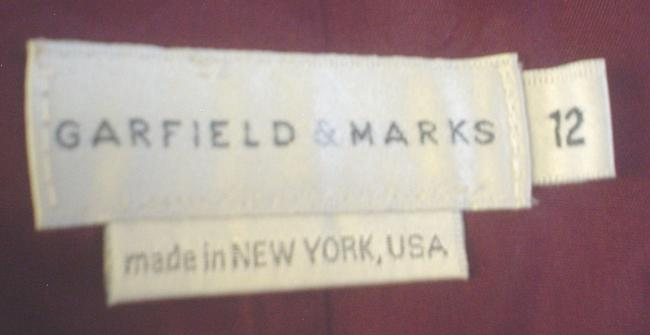 Garfield & Marks 3 Button Close Size L Lined Jacket Brown Copper Olive Blazer Image 7